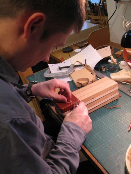 box stitching